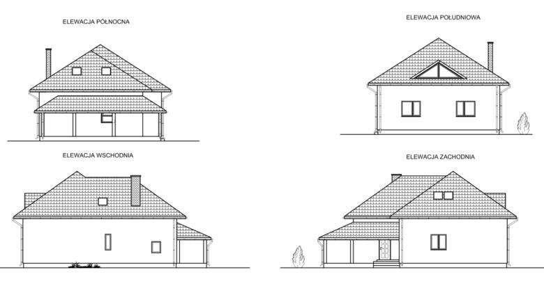 Projekt budowlany domu