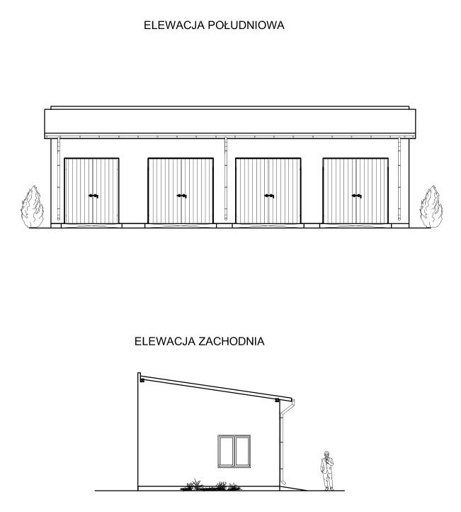 Projekt budowlany garażu