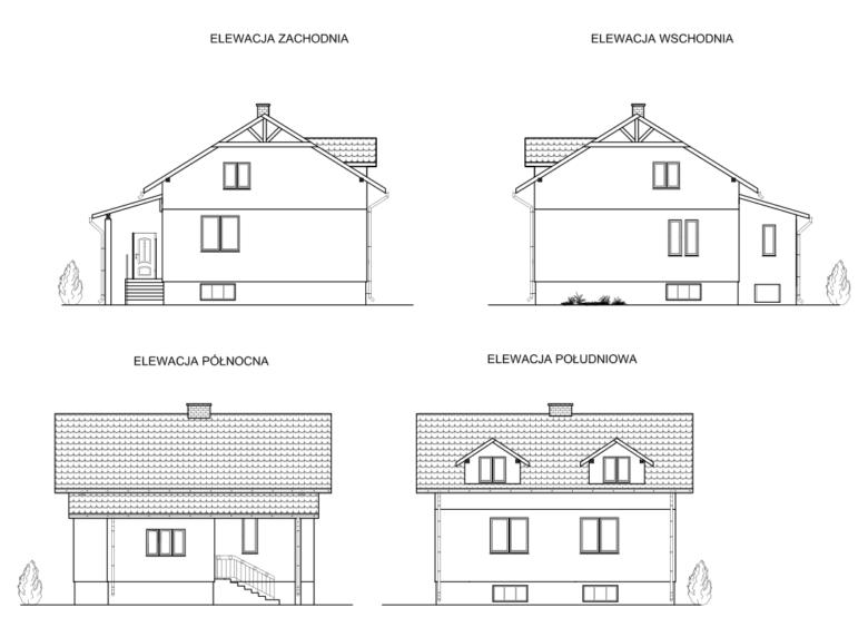 Projekt budowlany domu1